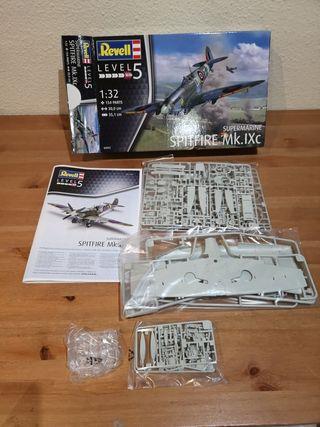 Maqueta Spitfire MkIX