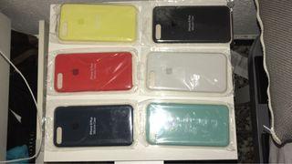 Funda apple iphone 7+ y 8+ silicone case