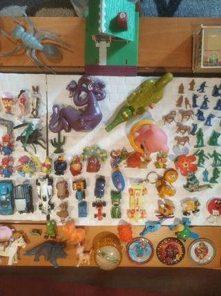 muñecos de los años 80 - 90