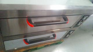 Horno industrial pizzas doble
