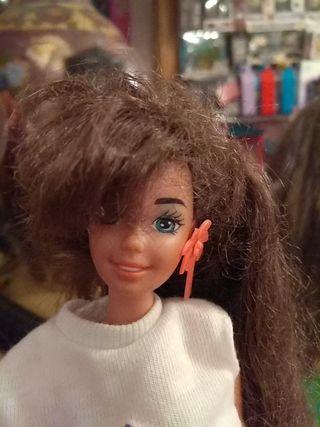Barbie glitter hair