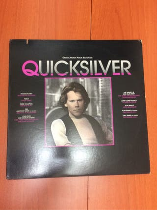 Disco vinilo QuickSilver año 1986