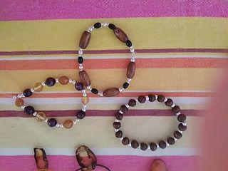 pulseras collares pendientes