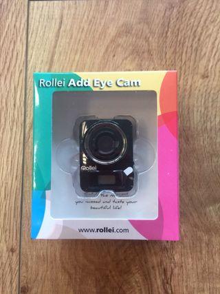 Mini Cámara Rollei Add Eye 4K Negra - nueva