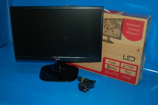 "Monitor para PC LED LG - 22"" -panoramico con HDMI"