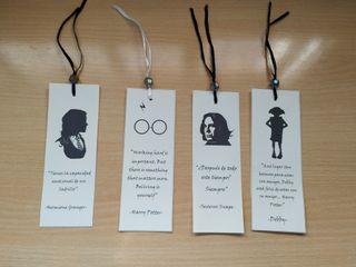 Marcapáginas Harry Potter Personalizados