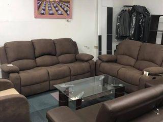 Sofá 3 plazas reclinable