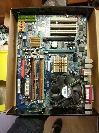 placa base socket 775