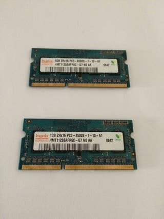 Apple 2gb Ram DDR3 a 1066 mhz originales