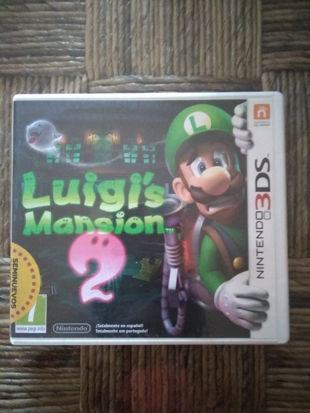 luigi mansion 2 3ds