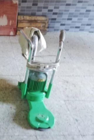 Maquina lijadora y pulidora joya de parquet