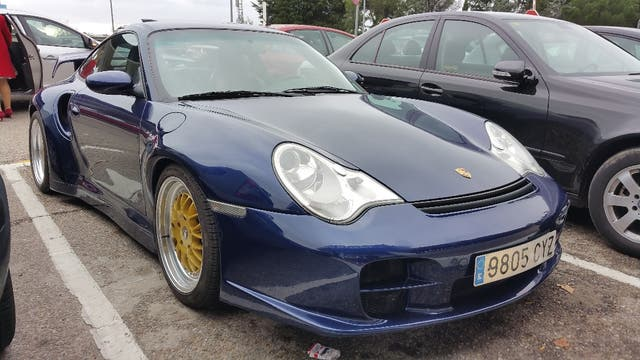 Porsche 911 Turbo De Segunda Mano Por 49000 EUR En Madrid WALLAPOP