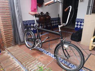 bici antigua restaurada