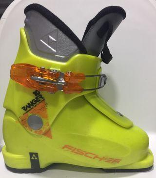 Bota esquí niño - niña FISCHER