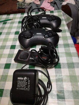 2 mandos de consola sega ,2 control pad