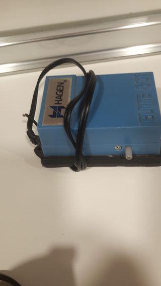inyector aire en acuario