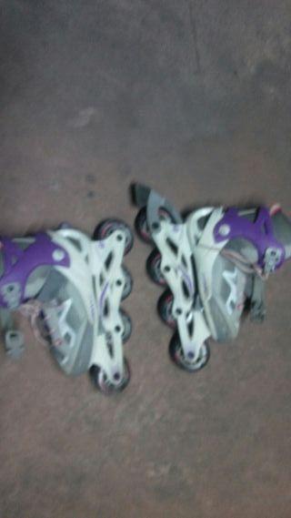 patines talla de la 32 a 35