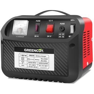 Cargador de bateria multifuncion 12V/24V 30A coche