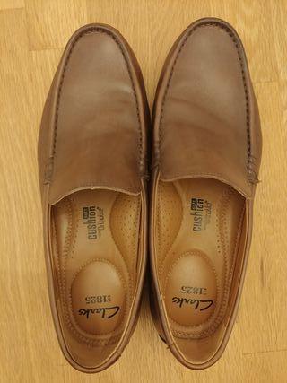 De Zapatos Talla Por 1 41 35 Cushion Segunda Mano Clarks Piel Uso dCreQWBxo