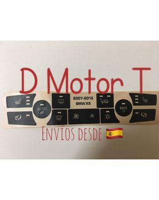 Pegatinas restaurar botoneras BMW E70 X5