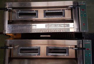 pizzerias hornos a gas usado 2 mes, 9 o 18 pizzas