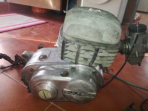 Motor Bultaco Pursang MK8 250cc