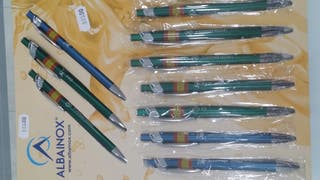 bolígrafos aluminio legion.bripac,oes