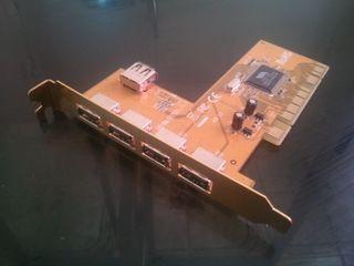Hub 4USB PCI