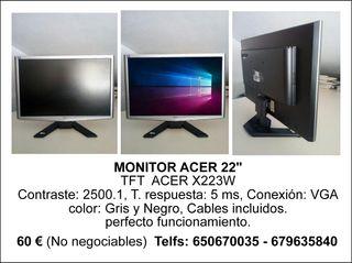 Monitor TFT 22'