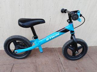 """bicicleta sin pedales de 10"""" para niños"""