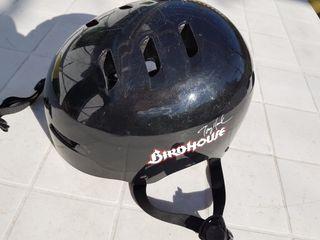 casco bici o monopatin