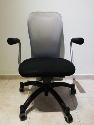 Sillas de escritorio con ruedas de segunda mano en wallapop - Silla escritorio segunda mano ...