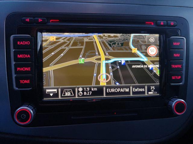 RNS510 LED Navegador Vw - 1T0035680Q (mapas v16) de segunda mano por