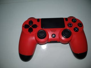 mando ps4 Red (rojo) play station
