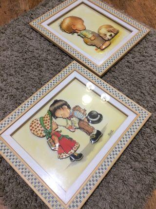 Cuadros decoración infantil