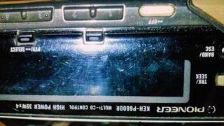 radio para coche pionner