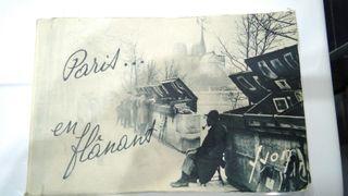 Antiguedad Librito 20 postales Paris Edicion Yvon.