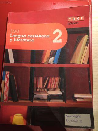 Libro de lengua catalana 2o ESO
