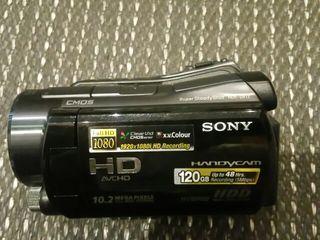 VIDEOCAMARA SONY FULL HDR-SR12 en perf.condiciones