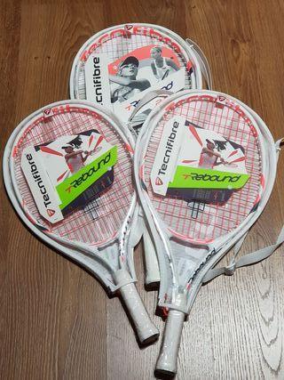 raquetas de tenis junior nuevas