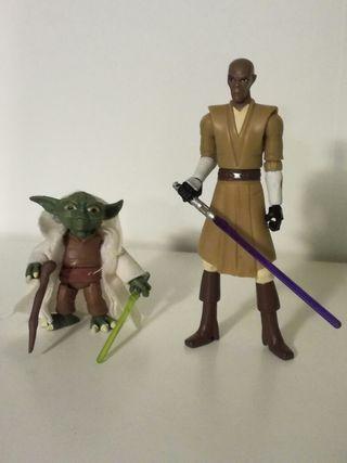 Star Wars figuras Jedi guerras clon