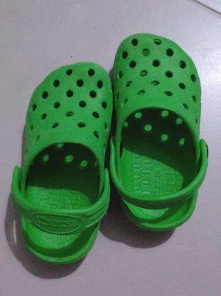 zapatillas de casa de playa zuecos niño talla 25