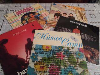 Cinco discos de los 70