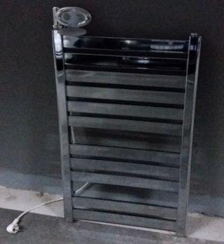 Radiador secador toallas inox.