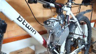 BICIMOTO Bicicleta Rockrider 5.3 MOTOR de Gasolina