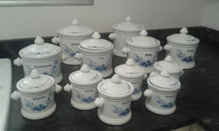 Tarros porcelana