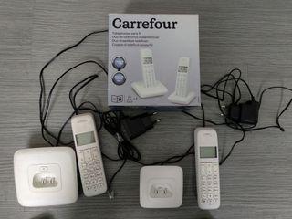 Telefonos Duo Inalambricos