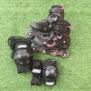 Kit patines de línea
