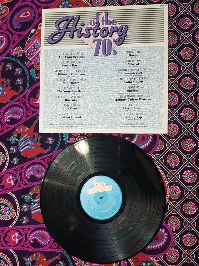 History of the 70's disco vinilo