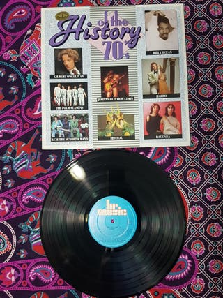 History of the 70's disco vinilo